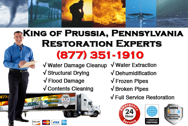 King of Prussia Water Damage Restoration