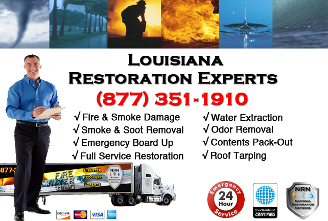 Louisiana Fire Damage Restoration Contractor