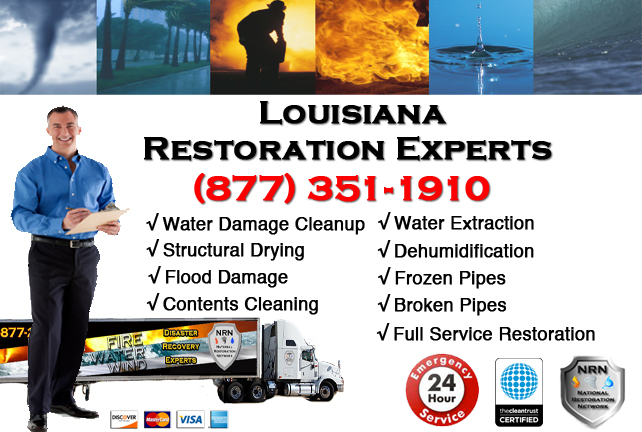 Louisiana Water Damage Restoration