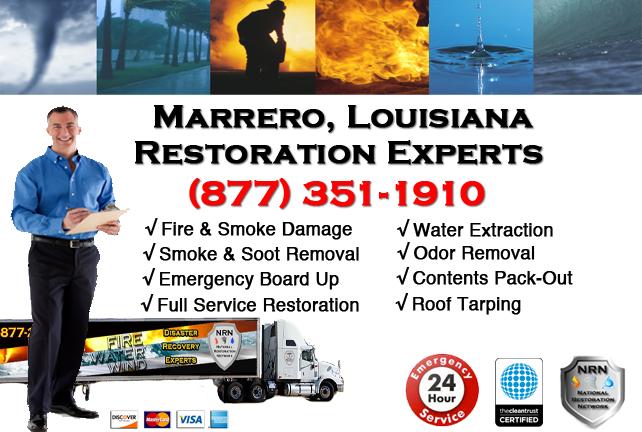 Marrero Fire Damage Restoration Contractor
