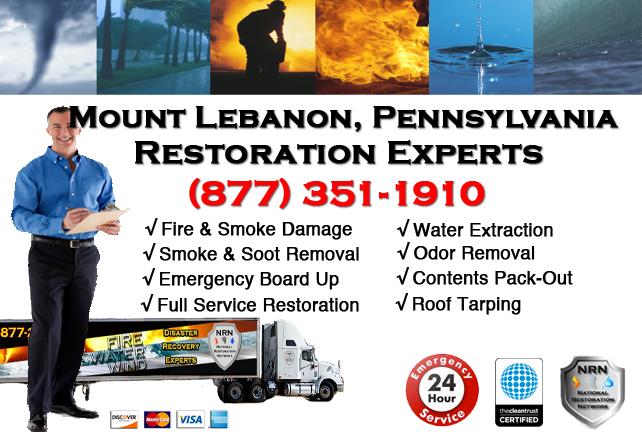 Mount Lebanon Fire and Smoke Damage Repairs