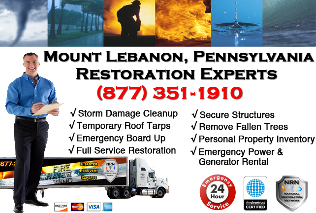 Mount Lebanon Storm Damage Repairs