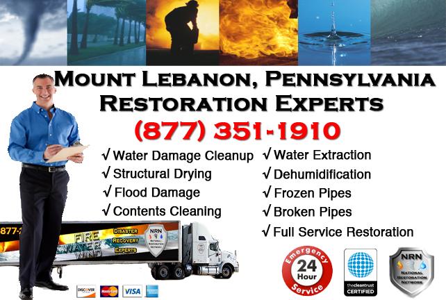 Mount Lebanon Water Damage Restoration