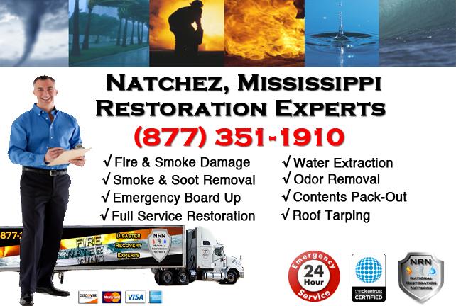 Natchez Fire Damage Restoration Contractor