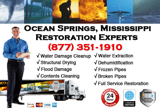 Ocean Springs Water Damage Restoration