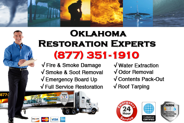 Oklahoma Fire Damage Restoration Contractor
