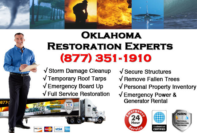 Oklahoma Storm Damage Cleanup