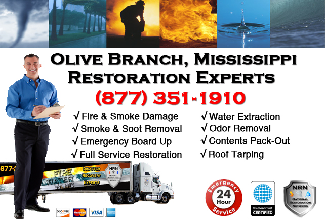 Olive Branch Fire Damage Restoration Contractor