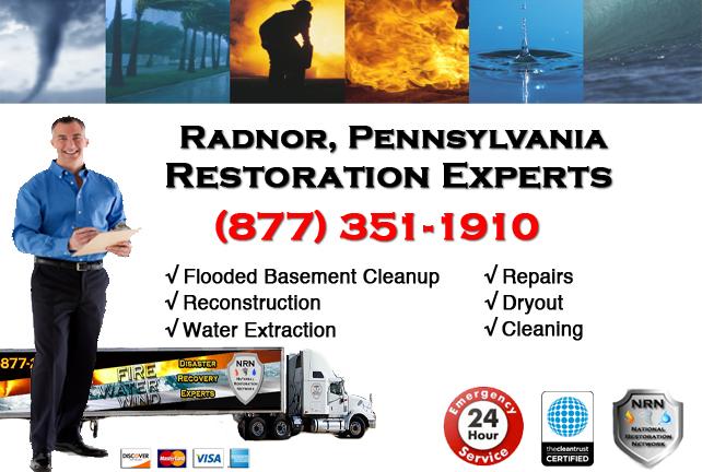 Radnor Flooded Basement Cleanup