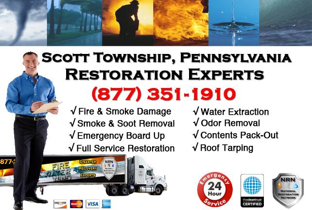 Scott Township Fire and Smoke Damage Repairs