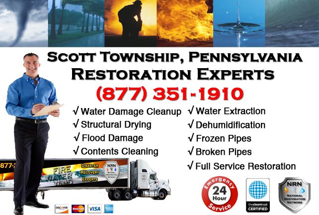 Scott Township Water Damage Restoration