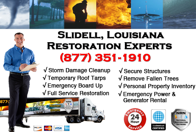 Slidell Storm Damage Cleanup