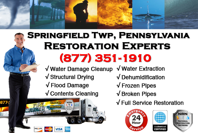 Springfield Township Water Damage Restoration