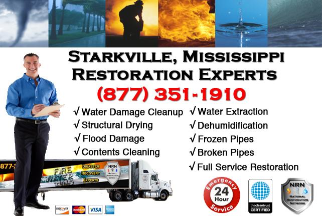 Starkville Water Damage Restoration