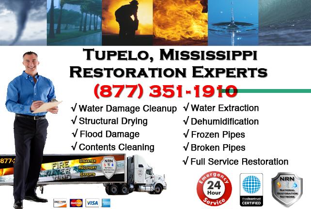 Tupelo Water Damage Restoration