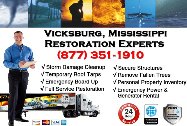 Vicksburg Storm Damage Cleanup