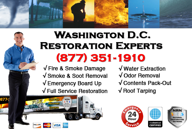Washington DC Fire Damage Restoration Contractor
