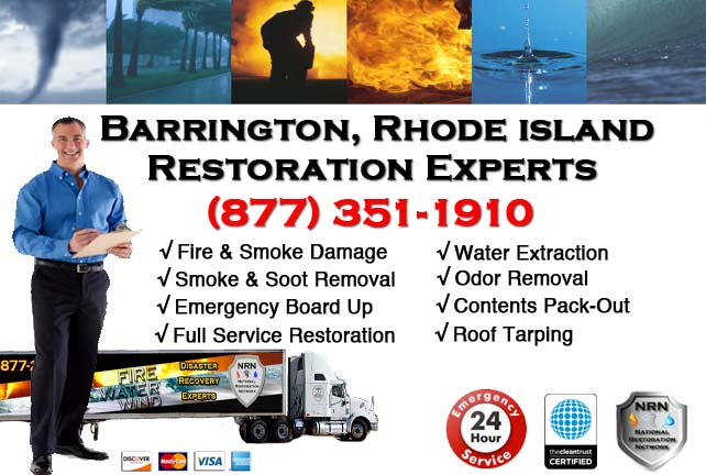Barrington Fire Damage Restoration Contractor