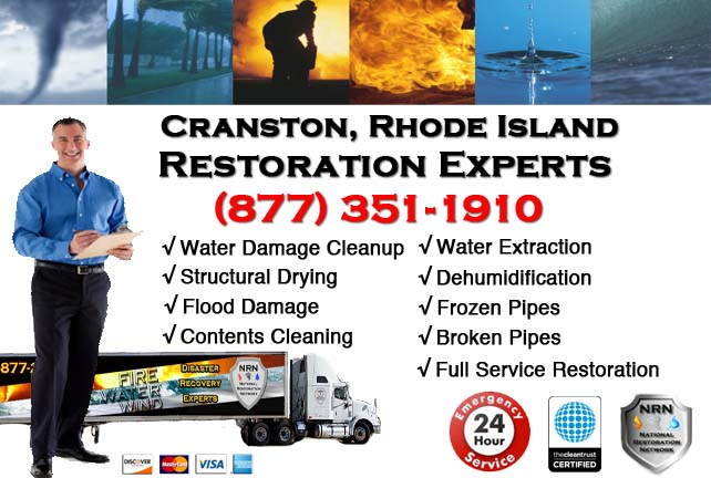 Cranston Water Damage Restoration