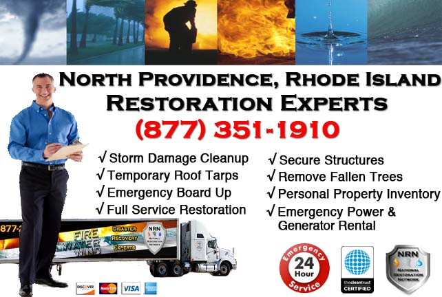 North Providence Storm Damage Cleanup