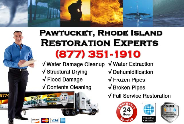 Pawtucket Water Damage Restoration