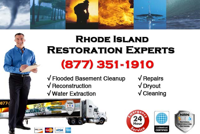 Rhode Island Flooded Basement Cleanup