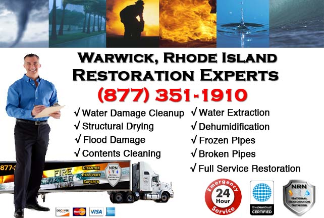 Warwick Water Damage Restoration
