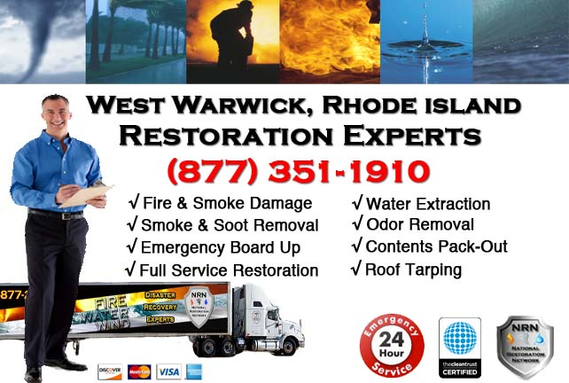 West Warwick Fire Damage Restoration Contractor