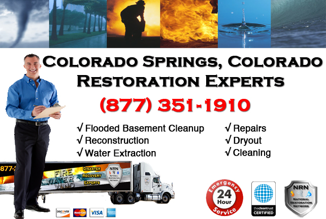 Colorado Springs Flooded Basement Cleanup