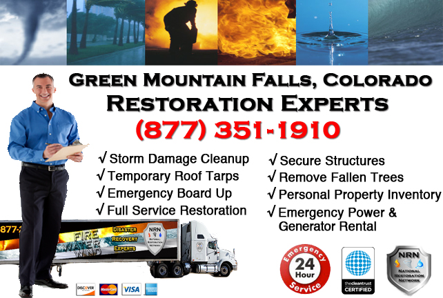 Green Mountain Falls Storm Damage Cleanup