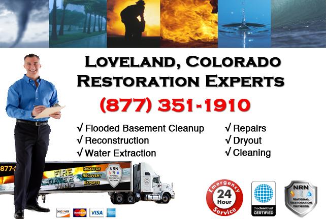Loveland Flooded Basement Cleanup