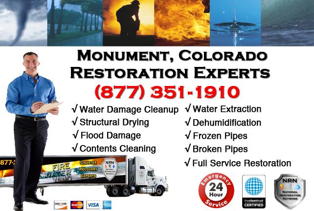 Monument Water Damage Restoration