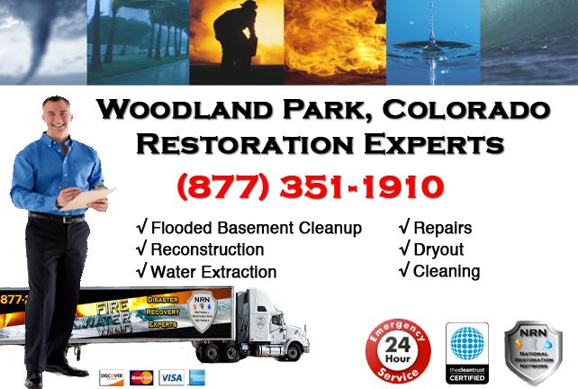 Woodland Park Flooded Basement Cleanup