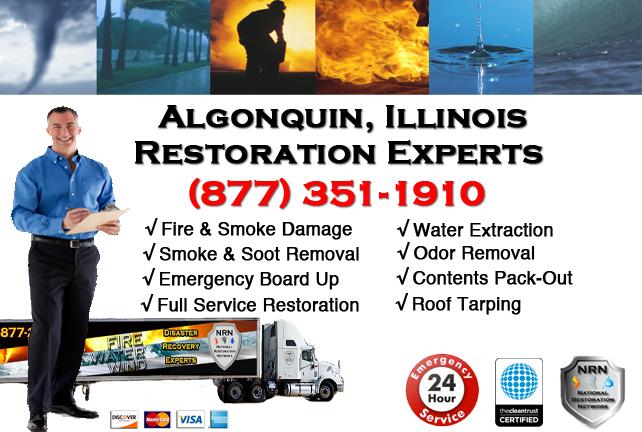 Algonquin Fire Damage Restoration Contractor
