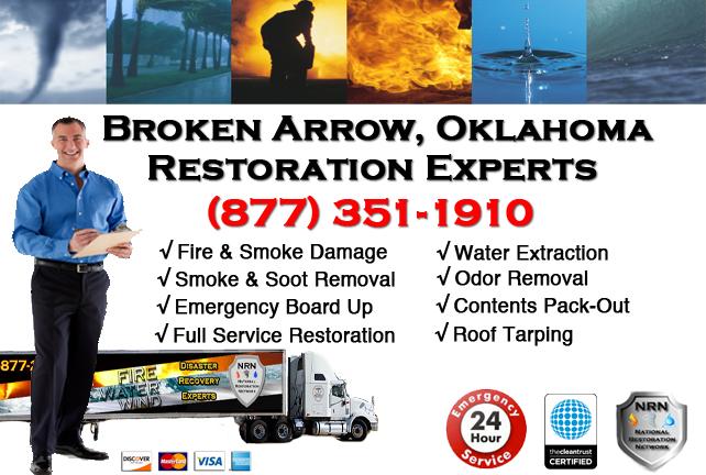 Broken Arrow Fire Damage Restoration Contractor