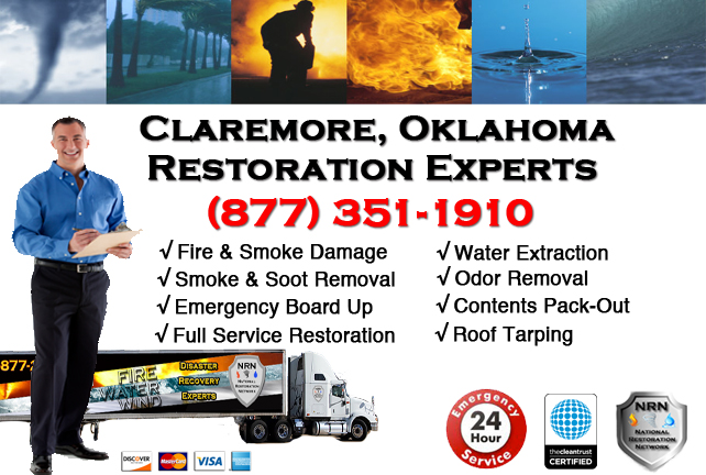Claremore Fire Damage Restoration Contractor