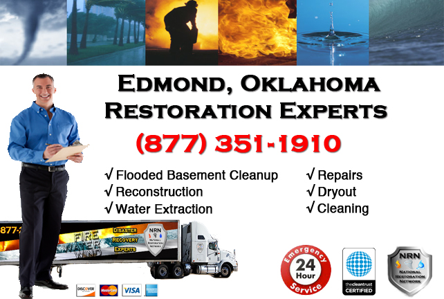 Edmond Flooded Basement Cleanup