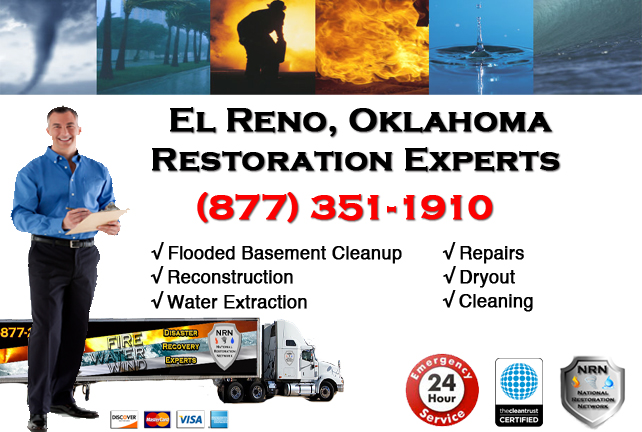 El Reno Flooded Basement Cleanup
