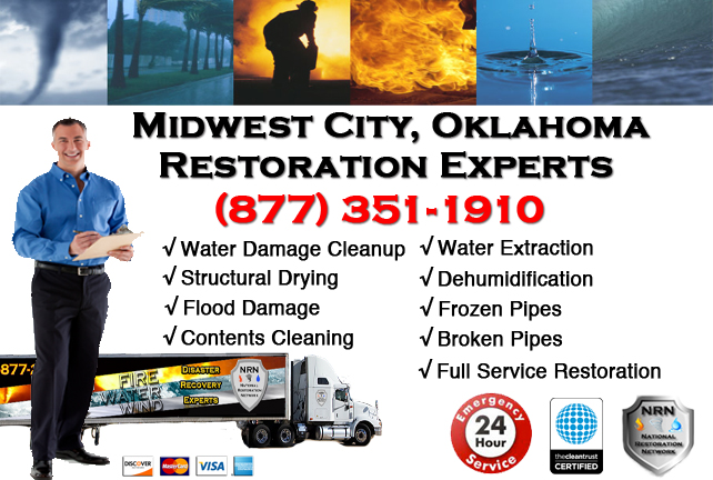 Midwest City Water Damage Restoration