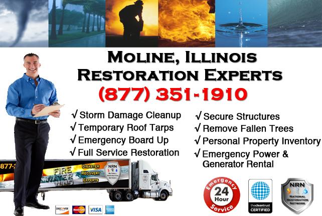 Moline Storm Damage Cleanup