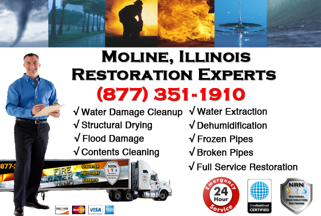 Moline Water Damage Restoration