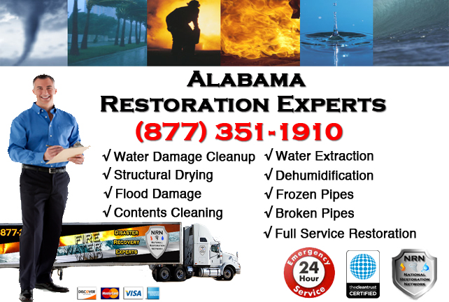 Alabama Water Damage Restoration