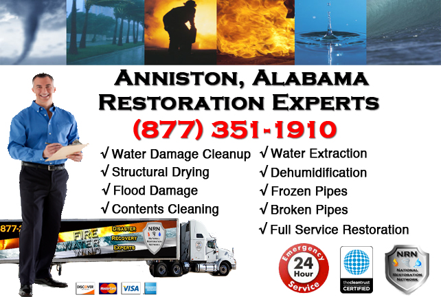 Anniston Water Damage Restoration