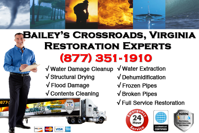 Bailey's Crossroads Water Damage Restoration