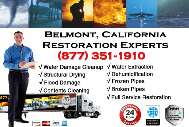 Belmont Water Damage Cleanup