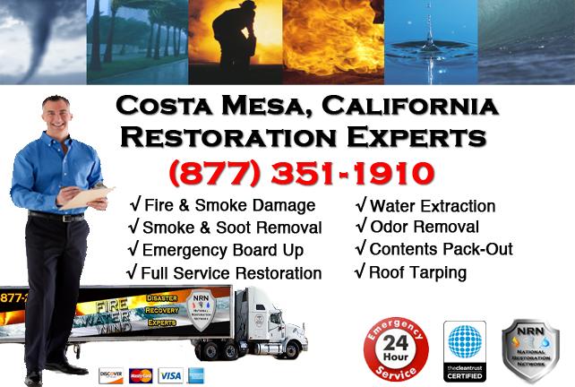 Costa Mesa Fire Damage Restoration Contractor