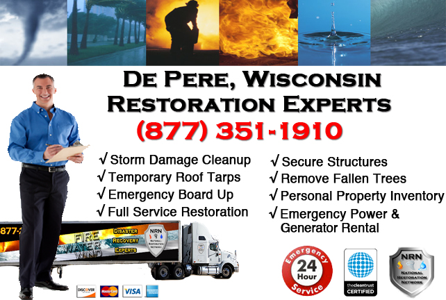 De Pere Storm Damage Cleanup