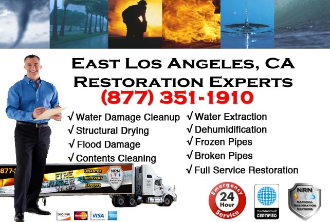 East Los Angeles water damage repairs