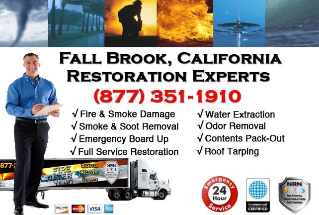 Fall Brook Fire Damage Restoration Contractor