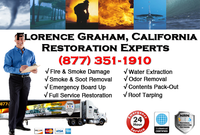 Florence-Graham Fire Damage Restoration Contractor